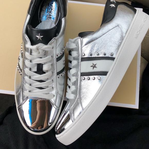 a74b60ef95c6c MICHAEL Michael Kors Shoes   Frankie Stripe Sneaker By Michael Kors ...
